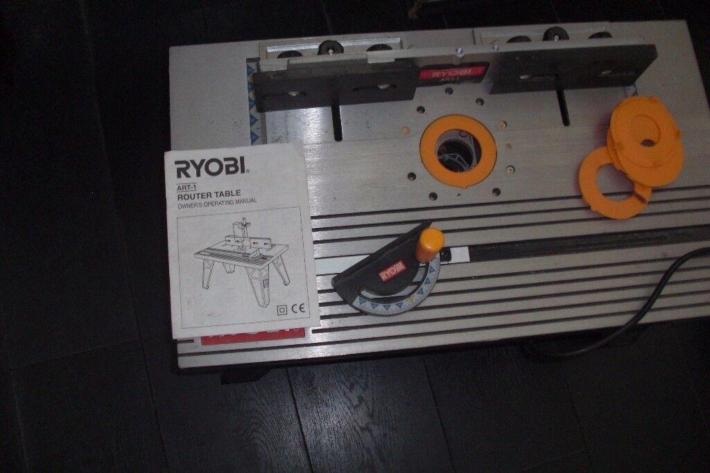 Ryobi Router Table & Ryobi Router