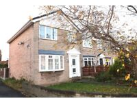 To Let: 3 Bedroom Detached House, Garage, Gardens, Recently Refurbished, Central Heating, Full uPVC