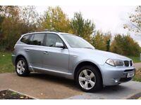 2005 BMW X3 3.0 i M Sport 5dr AUTOMATIC, 4X4, LOW MILES, FSH, 2 KEYS, WARRANTY, PX WELCOME