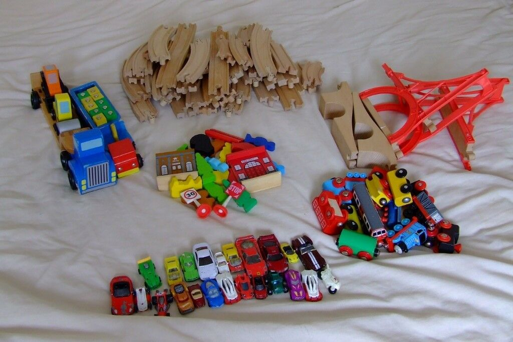 Wooden Train Set And More In Newbury Berkshire Gumtree