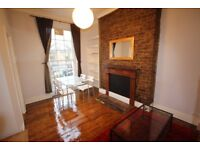 BRIGHT ONE BEDROOM FLAT WITH ROOF TERRACE IN VICTORIAN CONVERSION 2 MINS WALK TO CAMDEN TUBE/MARKET