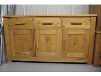 2nd Hand Schreiber Harbury Large Oak Sideboard For Sale