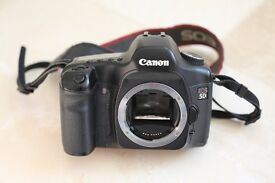Canon 5D Mk1 DSLR Camera - full frame - owned since new, purchased in UK store