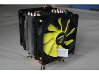 Akasa Venom Voodoo CPU Cooler Intel Mounting Only 1150 1155 1151 1156 Not 212 Evo