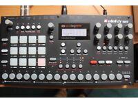 Elektron analog rytm mk1 drum machine with individual output cables