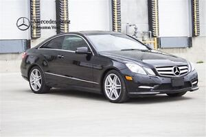 2013 Mercedes-Benz E350 4MATIC Coupe Prem & AMG Sport w/Drive As