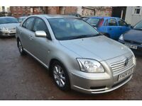 TOYOTA AVENSIS 2.0 D-4D T3-S 5dr (silver) 2004