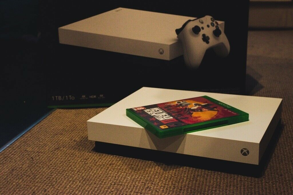 Fantastic Xbox One X White 1000Gb Ttb Storage W Red Dead Redemption 2 Perfect Condition In Coleraine County Londonderry Gumtree Gmtry Best Dining Table And Chair Ideas Images Gmtryco