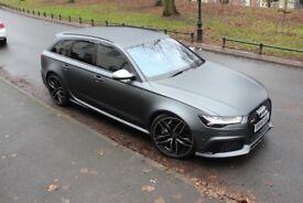 64 AUDI RS6 HIGH SPEC *DYNAMIC PLUS PK CERAMICS/B&O/MATT GREY ETC MAY PX* NOT RS4 RS3 R8 BMW M4 c63