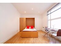 Neat and spacious studio, in the heart of South Kensington.