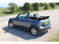 2009 Mini Cooper Convertible 12 mths MOT guarenteed very low mileage excellent condition FSH