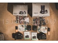 Canon 5D MIII with box and accessories
