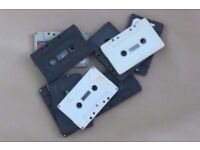 Digitise your Audio tapes from only £5