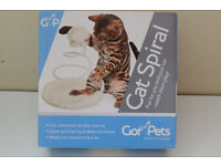Interactive Toy for Cats & Kittens By Gor Pets - Spiral Spring