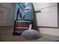 15 KILOS WAINWRIGHTS DOG FOOD< PLUS 2 KILOS FREE. £35.