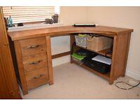 Nice Hardwood Desk