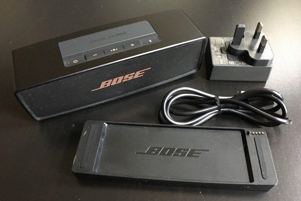 Bose Soundlink Mini Ii Portable Bluetooth Speaker Black