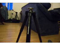 TRIPOD - MANFROTTO - 290 - MT294A3 + HEAD 804RC2 - can be sold separatly