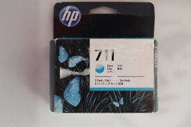 HP DesignJet 711 Cyan Ink 3 Pack