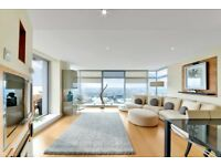Stunning 2 bed apartment available in Pan Peninsula Building Canary Wharf E14, South Quay