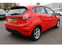 Ford Fiesta ZETEC (red) 2013-11-22