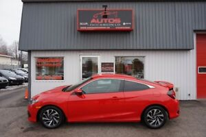 2016 Honda Civic LX 6 VITESSES FULL ÉQUIPÉ MAGS CAMERA 28 000 Km