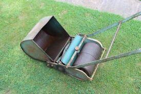 Push Mower Rollmo Presto push combined cut & roll grass lawnmower with box