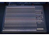 Soundtracs Topaz Project 8, 24 Channel, 8 Bus Analog Mixer, Mixing Console Desk & Power Supply