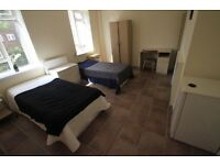 AMAZING TWIN ROOM IN MORNINGTON CRESENT ONLY 1 MINUTE FROM THE STATION