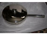 Stellar High Quality Stainless steel 26 cm frying pan with lid