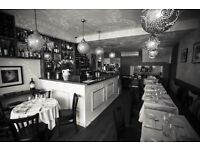 Kitchen Porter to start ASAP - QUANTUS Restaurant in Chiswick - West London