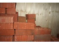 400 New Red Bricks, immaculate £120