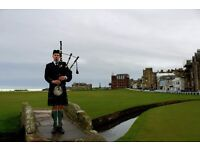 Piper For Hire in St Andrews | Weddings, Burns Nights, Funerals, Formal Dinners | East Coast Piper