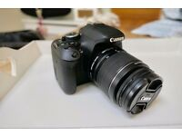 Canon 600D Digital SLR Camera with 18-55mm lens