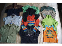 Bundle of boys clothes aged 1 (38 items)