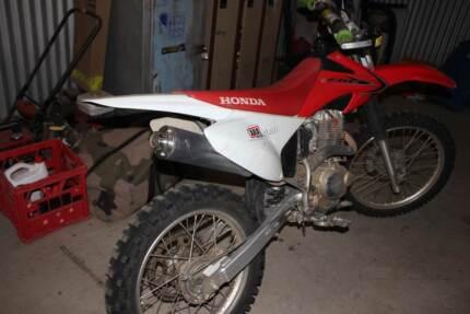Honda CRF230f motorbike Moore Creek Tamworth Surrounds Preview