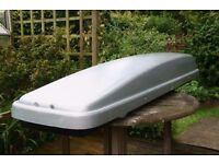 Ski Box - Kamei Sport Box. Approx internal dimensions 2.2m x 47.5cm x 27.5 cm or 7ft x 18in x 11in