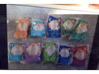 10 Macdonaolds Beanie Babies