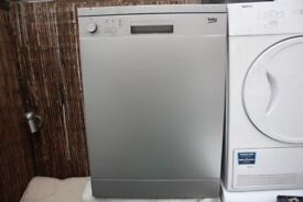 BEKO FULL SIZE DISHWASHER IN GOOD CLEAN WORKING ORDER FULLY REFURBISHED WITH WARRANTY & PAT TESTED
