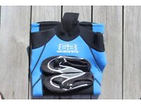 Wetsuit and Wet shoes for children approx 5 years old