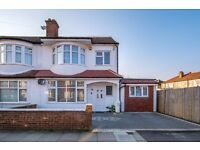 EDGEHILL ROAD, CR4 - A STUNNING BRAND NEW FIVE BEDROOM HOUSE + 3 BATHROOMS & DRIVEWAY - VIEW NOW