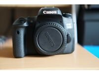 Canon EOS 760D 24.2MP DSLR Camera aka Rebel T6s Like New In Box