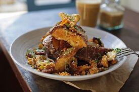 Senior Sous Chef - brunch restaurant - daytime hours - creative input - excellent salary