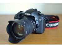 Canon EOS 7D + Sigma 17-50mm f2.8 Lens + Accessories