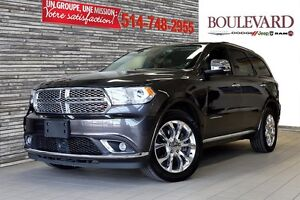 2016 Dodge Durango CITADEL DVD+TOIT+6 PLACES!!