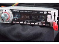 CAR CD/USB/SD/RADIO AUX IN PLAY IPOD PHONE MUSIC WIRES/CAGE