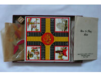 Vintage 'De Luxe' Games set, collectable - Checkers, Chess, Asia, Solitaire