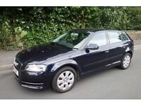 2010 AUDI A3, SPORTBACK 2.0 TFSI TURBO, 200BHP, VERY FAST, 1 OWNER FROM NEW, HPI CLEAR not leon golf
