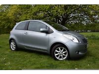 2007 TOYOTA YARIS ,1.3 PETROL ***ONLY 65K **3 MOMTHS WARRANTY**LOW INSURANCE***
