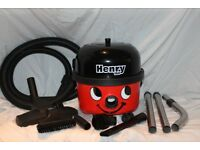 BOXED Numatic Henry 160 Compact includes Hepi-Filter dust bag. With tools. As new.